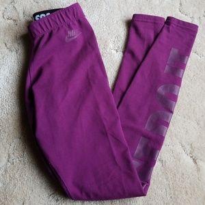 Nike Pants - NIKE Just Do It Leggings